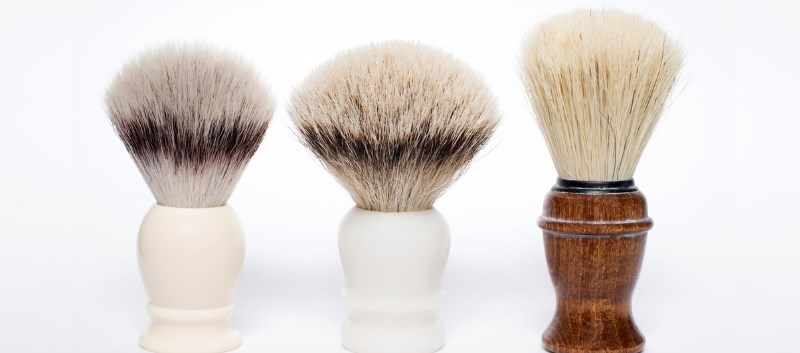 Anthrax cases were once linked to horsehair shaving brushes