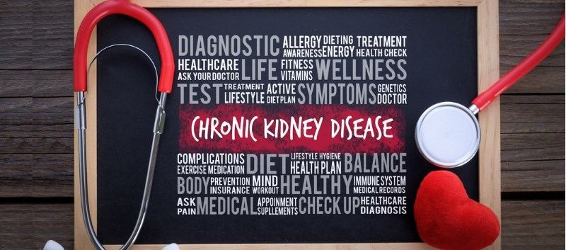 A total of 17 studies were included in the analysis which assessed risk of renal disease, death and quality of life