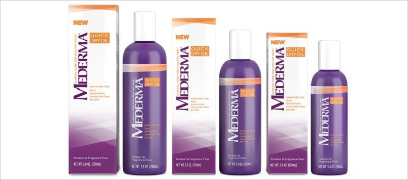 Mederma Quick Dry Oil and Spezial Collection Launch in U.S.
