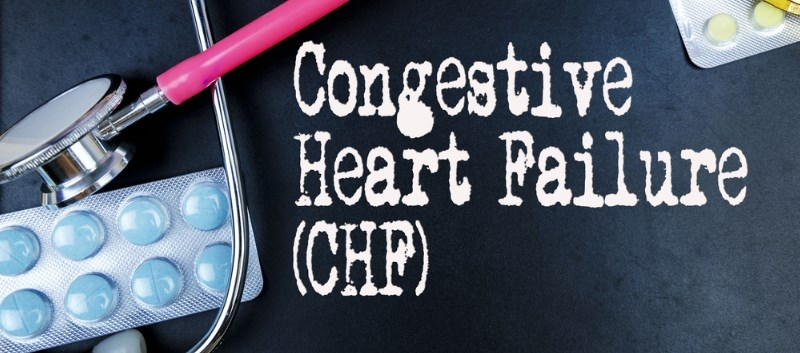 CHF patients had worse outcomes with parenteral nutrition