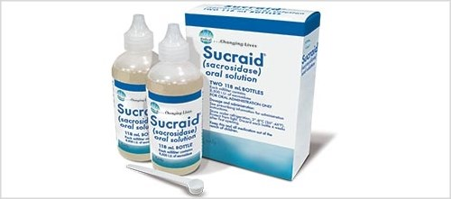 Sucraid helps to improve the breakdown and absorption of sucrose from the intestine