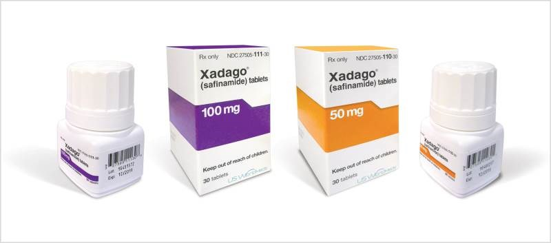 The efficacy of Xadago was established in studies involving >1,100 PD patients
