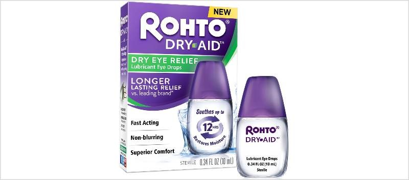 Rohto Dry-Aid Now Available for Dry Eye Relief
