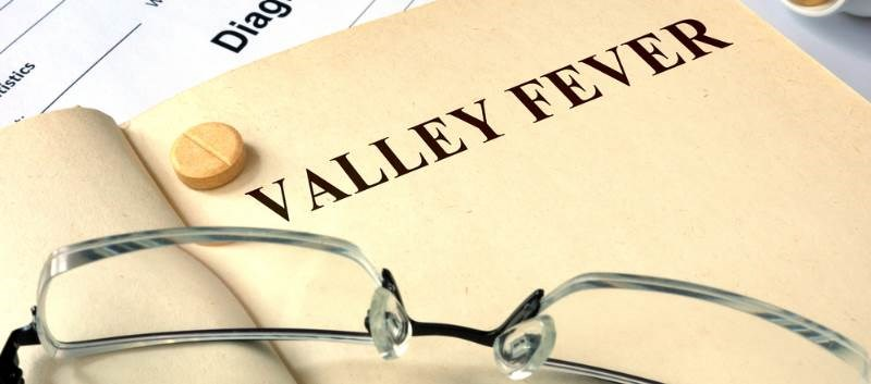 Valley Fever is an invasive fungal infection that occurs by inhaling microscopic spores from the air in affected areas
