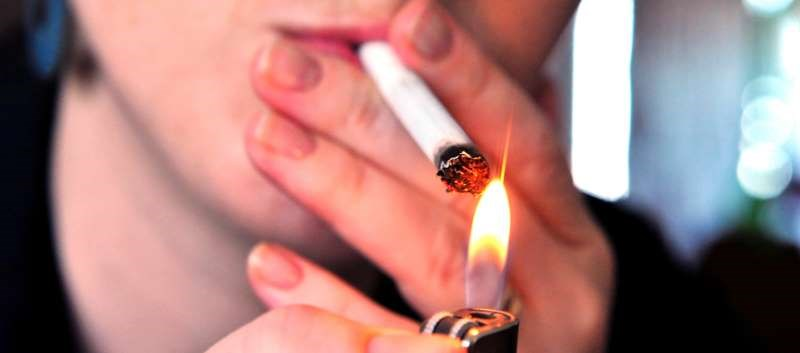 By industry, any tobacco product use ranged from 11% among education services to 34.3% among construction workers
