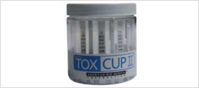 The 1-step drug test cup that delivers results within 5 minutes