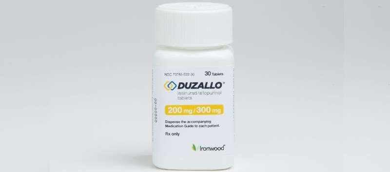 Fixed-Dose Combo Tx Duzallo Approved for Uncontrolled Gout