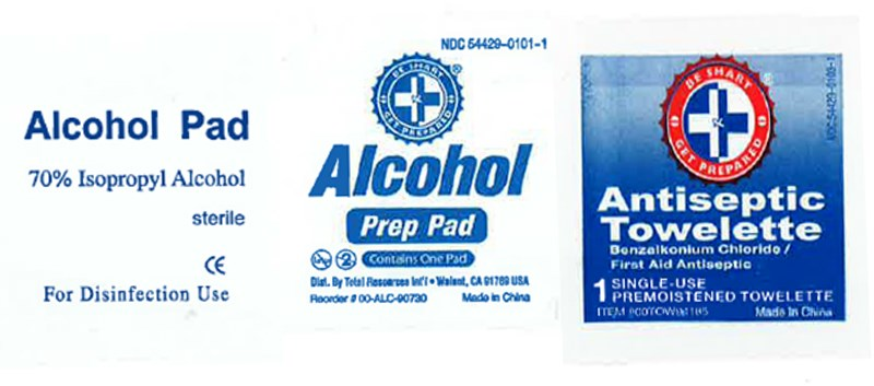 FDA: Do Not Use These Alcohol Pads, Antiseptic Towelettes