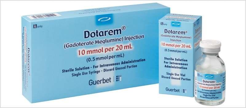 Dotarem is a macrocyclic and ionic gadolinium-based contrast medium