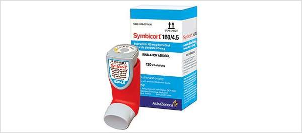 Symbicort combines budesonide and formoterol fumarate dihydrate, a long-acting beta-2 agonist (LABA)
