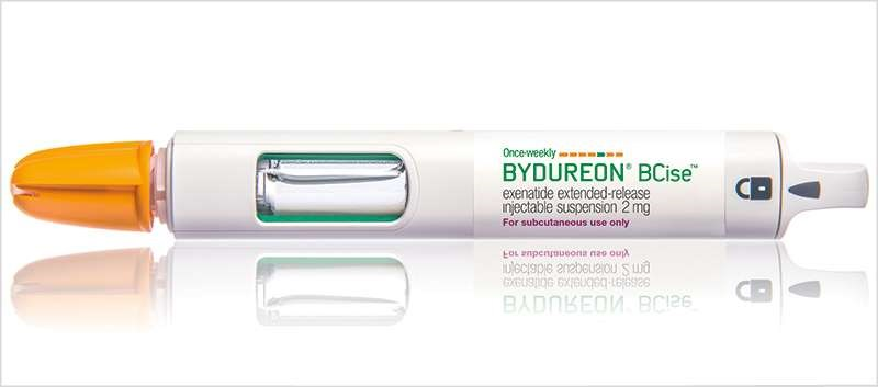 Bydureon BCise is intended for patient self-administration