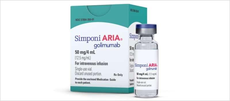 Simponi Aria Approved for Psoriatic Arthritis, Ankylosing Spondylitis