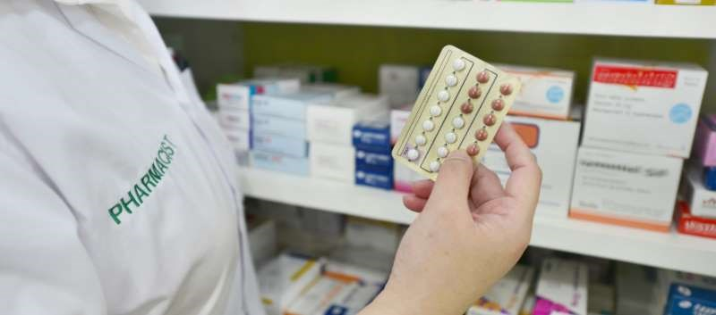 California is 1 of 4 states currently allowing pharmacists to prescribe contraception