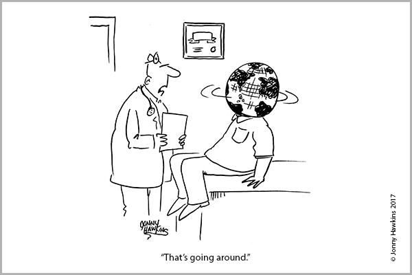 Weekly Cartoon: Monday, December 18