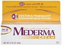 Mederma Cream + SPF 30 available