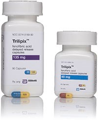 Trilipix approved for cholesterol management