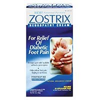 Zostrix Neuropathy Cream available