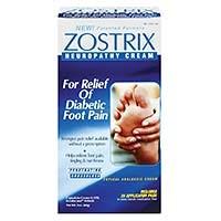 Zostrix Neuropathy Cream available