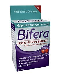 Bifera OTC iron supplemental available
