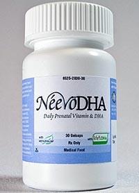 NEEVO DHA Prenatal Vitamins from PamLab