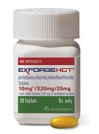 Exforge HCT approved for hypertension