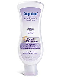 Coppertone NutraShield with Dual Defense sunscreens available