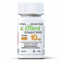 EFFIENT (prasugrel) 5mg, 10mg tablets by Daiichi Sankyo and Eli Lilly