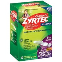 CHILDREN'S ZYRTEC PERFECT MEASURE (cetirizine) 5mg/spoon by McNeil Consumer