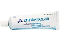 ZITHRANOL-RR (anthralin) 1.2% cream from Elorac