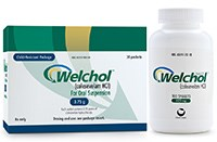 WELCHOL (colesevelam) 1.875gram, 3.75gram single dose packets or 625mg tablets by Daiichi Sankyo