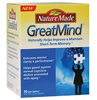 GREATMIND dietary supplement by Nature Made
