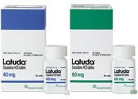 LATUDA (lurasidone HCl) 40mg and 80mg tablets by Sunovion