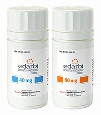 EDARBI (azilsartan medoxomil) 40mg and 80mg tablets by Takeda Pharmaceuticals North America