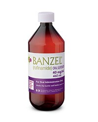 BANZEL (rufinamide) 40mg/mL oral suspension by Eisai