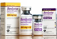 BENLYSTA (belimumab) 120mg/vial, 400mg/vial for injection by Genome Sciences and GlaxoSmithKline