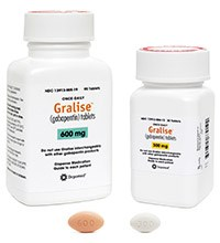 GRALISE (gabapentin) 300mg and 600mg tablets by Depomed