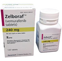 Zelboraf (vemurafenib) 240mg tablets by Genentech