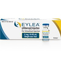 EYLEA (aflibercept) 40mg/mL intravitreal injection by Regeneron