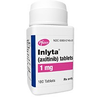 INLYTA (axitinib) 1mg, 5mg tablets by Pfizer