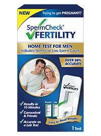 SpermCheck Fertility screening test