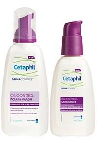 CETAPHIL DERMACONTROL Foam Wash and Moisturizer by Galderma