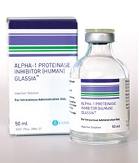 Glassia approved for treating alpha 1 antitrypsin deficiency