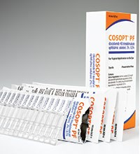 COSOPT PF (dorzolamide HCl, timolol maleate) 2%, 0.5% ophthalmic solution by Merck