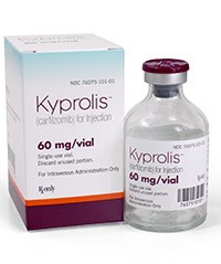 KYPROLIS (carfilzomib) 60mg sterile lyophilized powder for IV injection by Onyx Pharmaceuticals