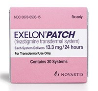 EXELON PATCH (rivastigmine) transdermal system 13.3mg/24hours by Novartis