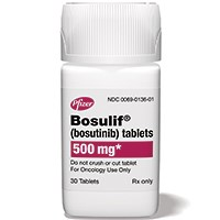 BOSULIF (bosutinib) 500mg tablets by Pfizer