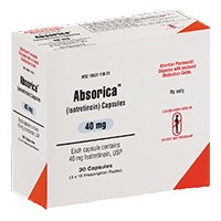 ABSORICA (isotretinoin) 40mg capsules by Ranbaxy