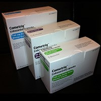 COMETRIQ (cabozantinib) 60mg, 100mg, 140mg daily dose capsule blister cards by Exelixis