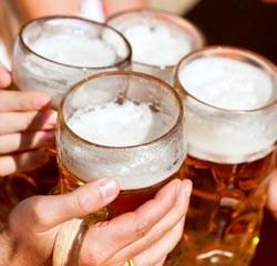 Beer Flavor Stimulates Striatal Dopamine Release