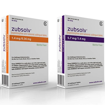 New Zubsolv Dosage Strength Coming Soon